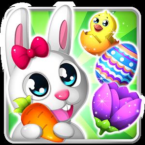 Easter Bunny Swipe: Egg Game icon