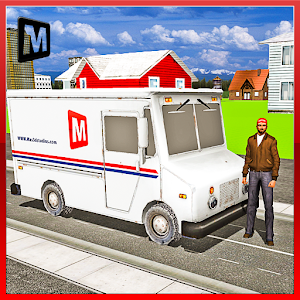 TRANSPORT TRUCK: MAIL DELIVERY icon