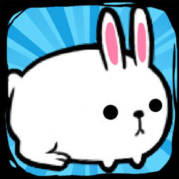 Rabbit Evolution | Tap Coins of the Crazy Mutant Poop Clicker Game icon