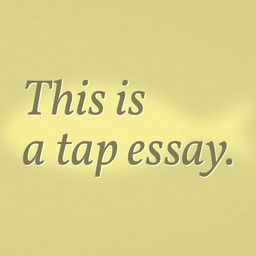 Synthesis Example Essay Fish A Tap Essay Icon Process Paper Essay also Examples Of Argumentative Thesis Statements For Essays Fish A Tap Essay  Apprecs Essay Of Health