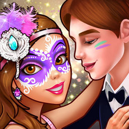 Face Paint Party 2 Girls Makeup Dress Up Games Icon