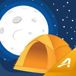 moonlight camping trip planner apprecs