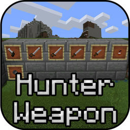 Hunter Weapons Add On For Minecraft Pe Mcpe Apprecs