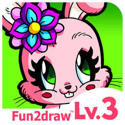 Image of: Cartoon Fun2draw Animals Lv3 How To Draw Color Stylish Pretty Kawaii Animal Characters Icon Apprecs Fun2draw Animals Lv3 How To Draw Color Stylish Pretty Kawaii