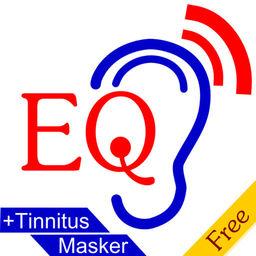 EQ HearAid + Tinnitus Masker - Hearing aid with adiogram