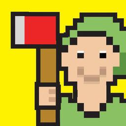 Lumberjack Cut The Beanstalk Lumberman Edition 8 Bit Pixel Fun Kids Games Apprecs