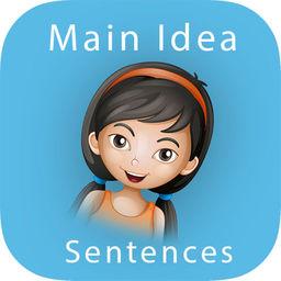 Main Idea Sentences Apprecs
