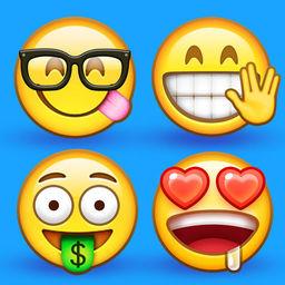 Supermoji - New Emojis and 3D Animated Emoticons - AppRecs