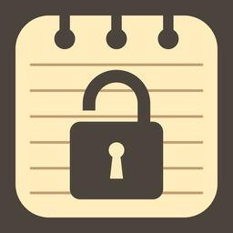 Simple My Notepad Lock Memo Apprecs