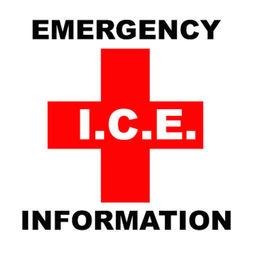 Ice In Case Of Emergency Vital Personal Data Apprecs