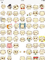 Hot emoji 2 for wechat - Animated Emojis stickers and icons screenshot