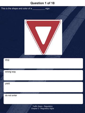 drivers license practice test app
