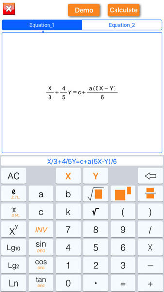 Math solution and homework help software